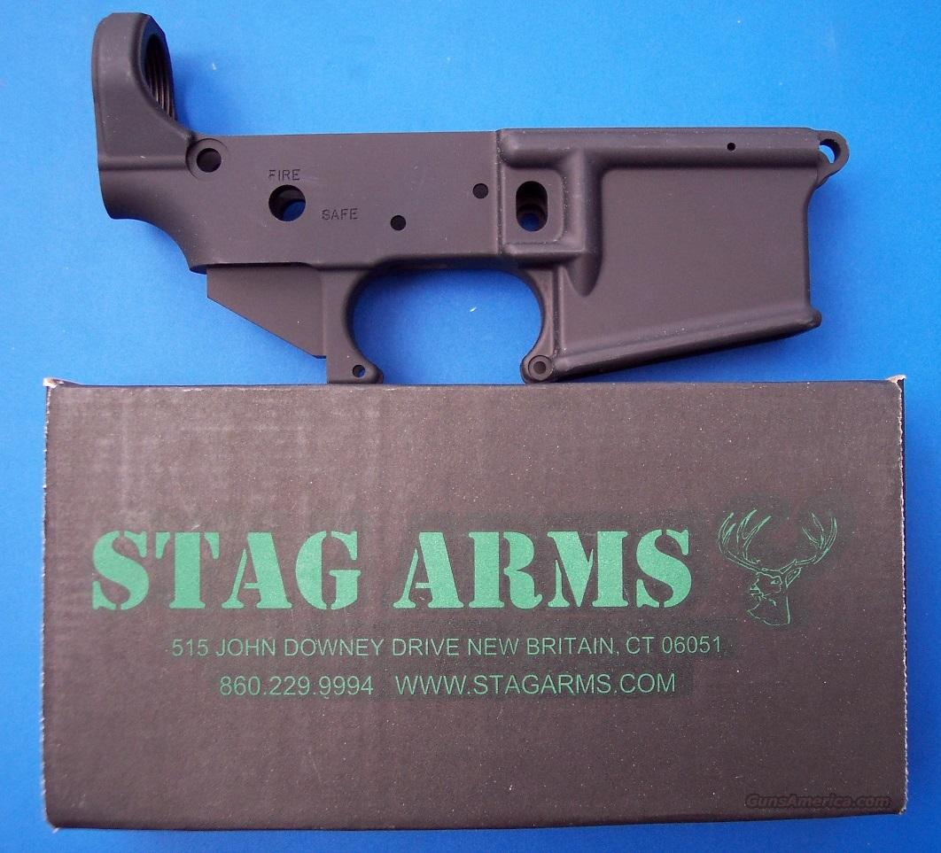 Stag Arms Lower Receiver 5.56mm Nato AR-15 *NEW*  Guns > Rifles > Stag Arms > Lower Only