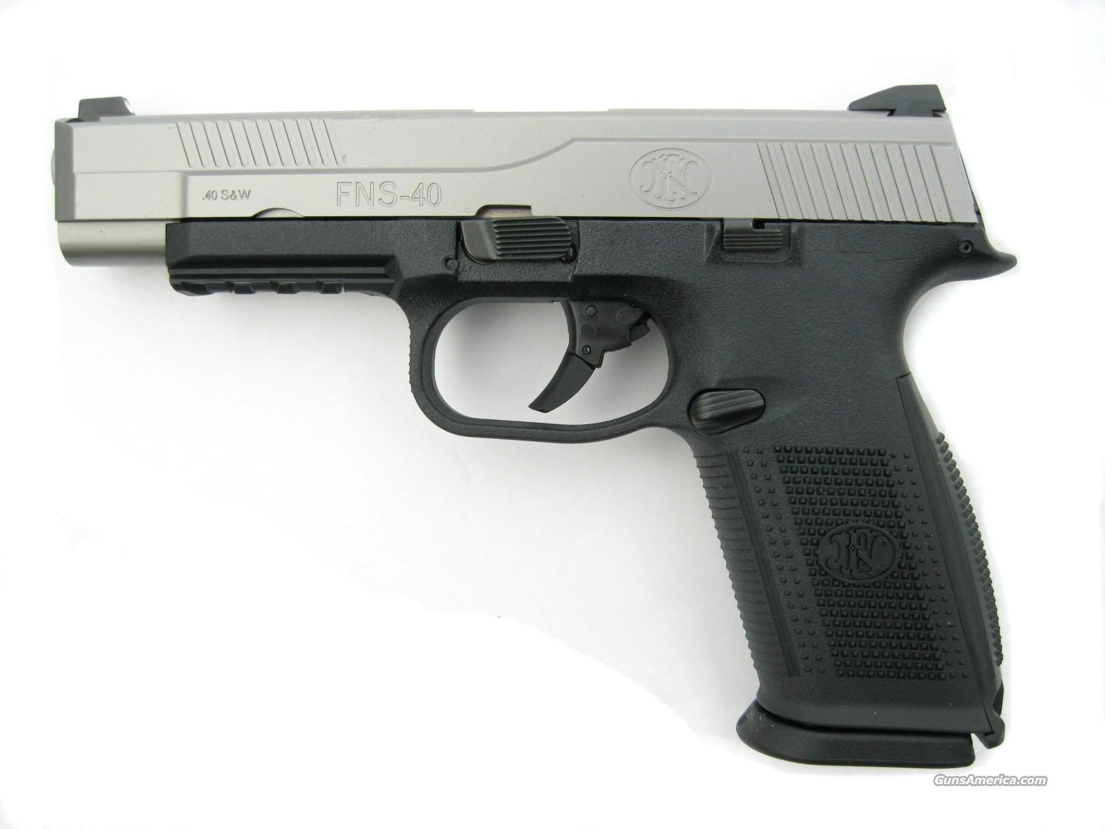 FNH FNS-40L SS Competition Series .40 S&W Long Slide *NEW*  Guns > Pistols > FNH - Fabrique Nationale (FN) Pistols > FNP