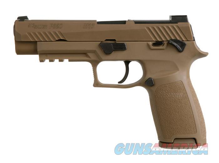 Sig P320 M17 U.S. Army 9mm 17rd SigLite NS FDE *NEW* Free Shipping  Guns > Pistols > Sig - Sauer/Sigarms Pistols > P320