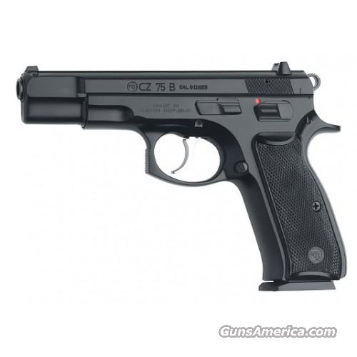 CZ 75B 9mm Poly Coat 16 Rd *NEW*  Guns > Pistols > CZ Pistols
