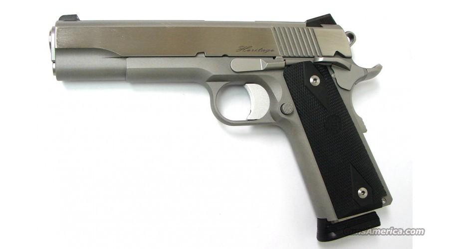 "Dan Wesson Heritage SS 1911 .45 acp 5"" NS *NEW*  Guns > Pistols > Dan Wesson Pistols/Revolvers > 1911 Style"