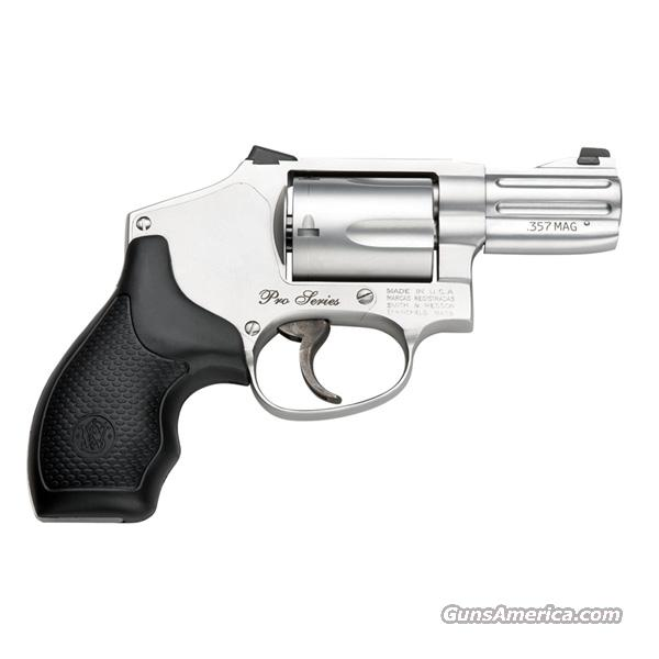 Smith & Wesson 640 Pro Series 357 Mag SS Moon Clip *NEW* 178044  Guns > Pistols > Smith & Wesson Revolvers > Performance Center