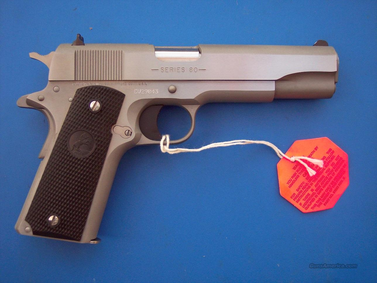 Colt Government 1991 Stainless 45 *NEW*  Guns > Pistols > Colt Automatic Pistols (1911 & Var)
