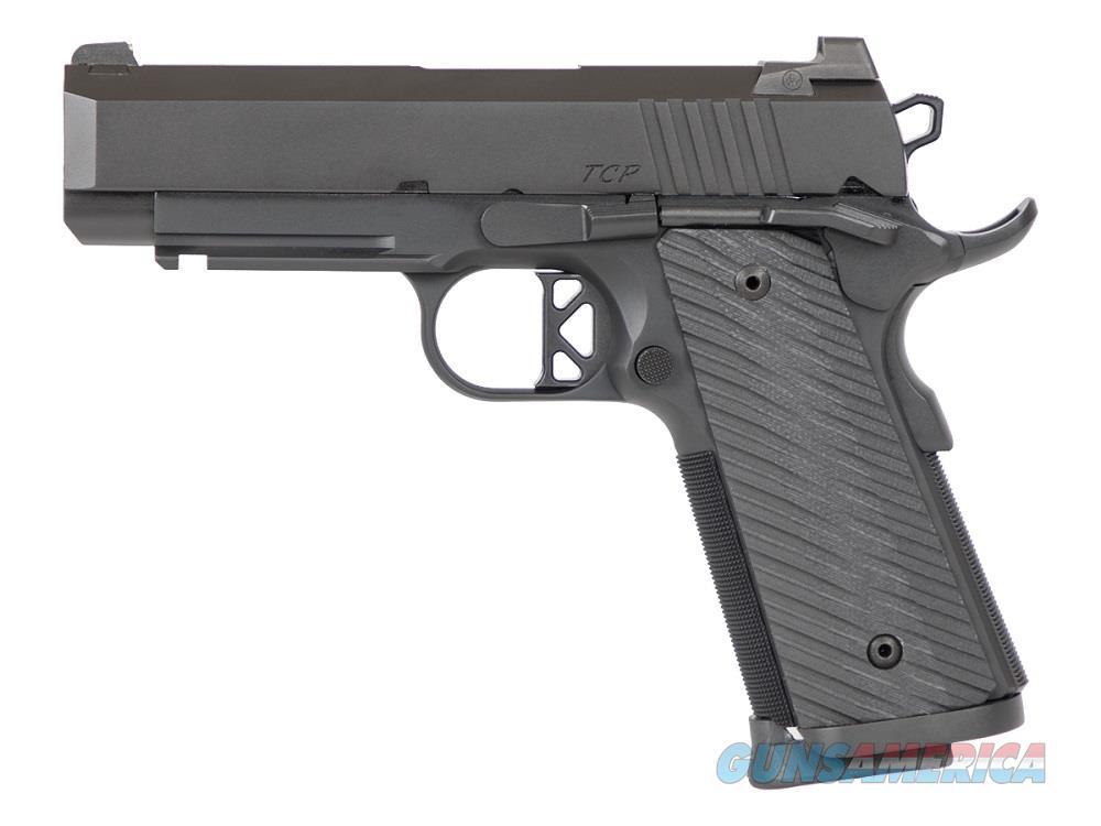 "Dan Wesson TCP 9mm LW 4"" Tactical Railed Commander G10 Black Duty 01845 *NEW*  Guns > Pistols > Dan Wesson Pistols/Revolvers > 1911 Style"
