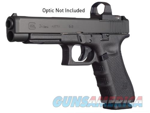 Glock 34 Gen4 MOS 9mm Modular Optic System 3 - 17 Rd Mags Practical Tactical Competition *NEW*  Guns > Pistols > Glock Pistols > 34
