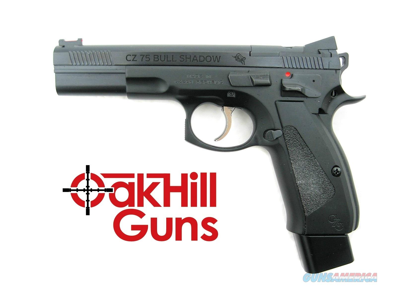 CZ 75 Bull Shadow Custom Carry Optics 9mm CZC Bull Barrel Optic Ready 20 Rd Mags 91725CO  *NEW*  Guns > Pistols > CZ Pistols