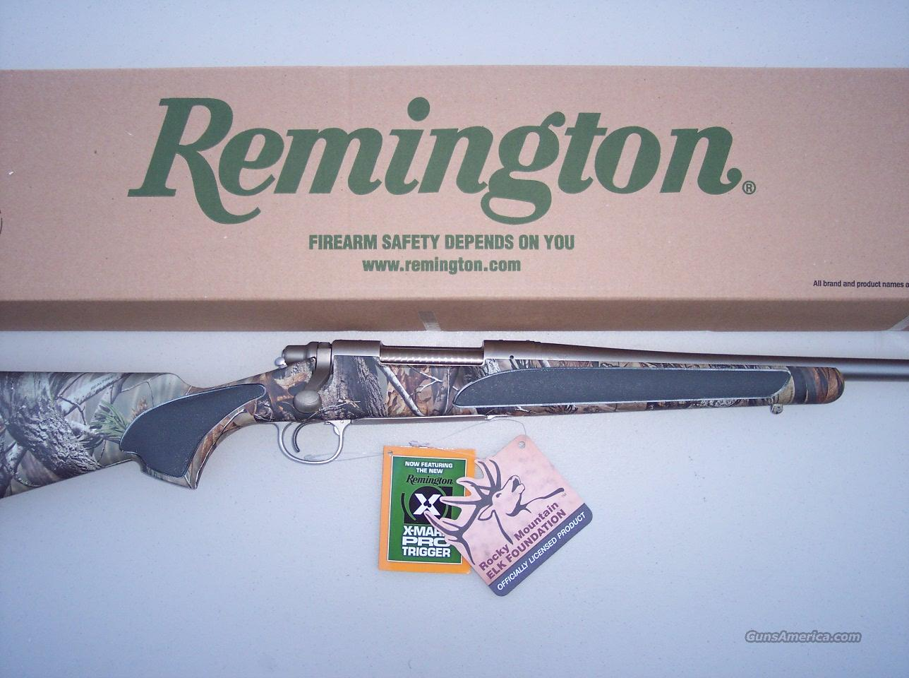 Remington 700 Rocky Mountain Elk Federation LIMITED Edition 7 mm RUM NEW  Guns > Rifles > Remington Rifles - Modern > Model 700 > Sporting