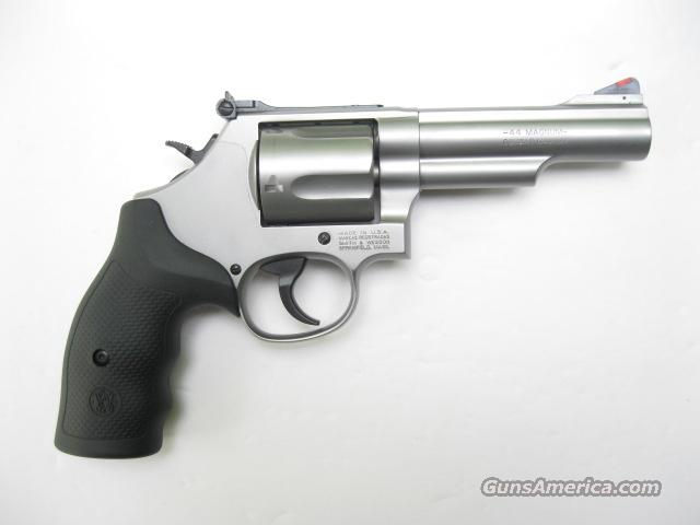 Smith & Wesson 69 Combat Magnum .44 Mag 4 in Stainless L Frame 5 Shot 162069 *NEW*  Guns > Pistols > Smith & Wesson Revolvers > Full Frame Revolver