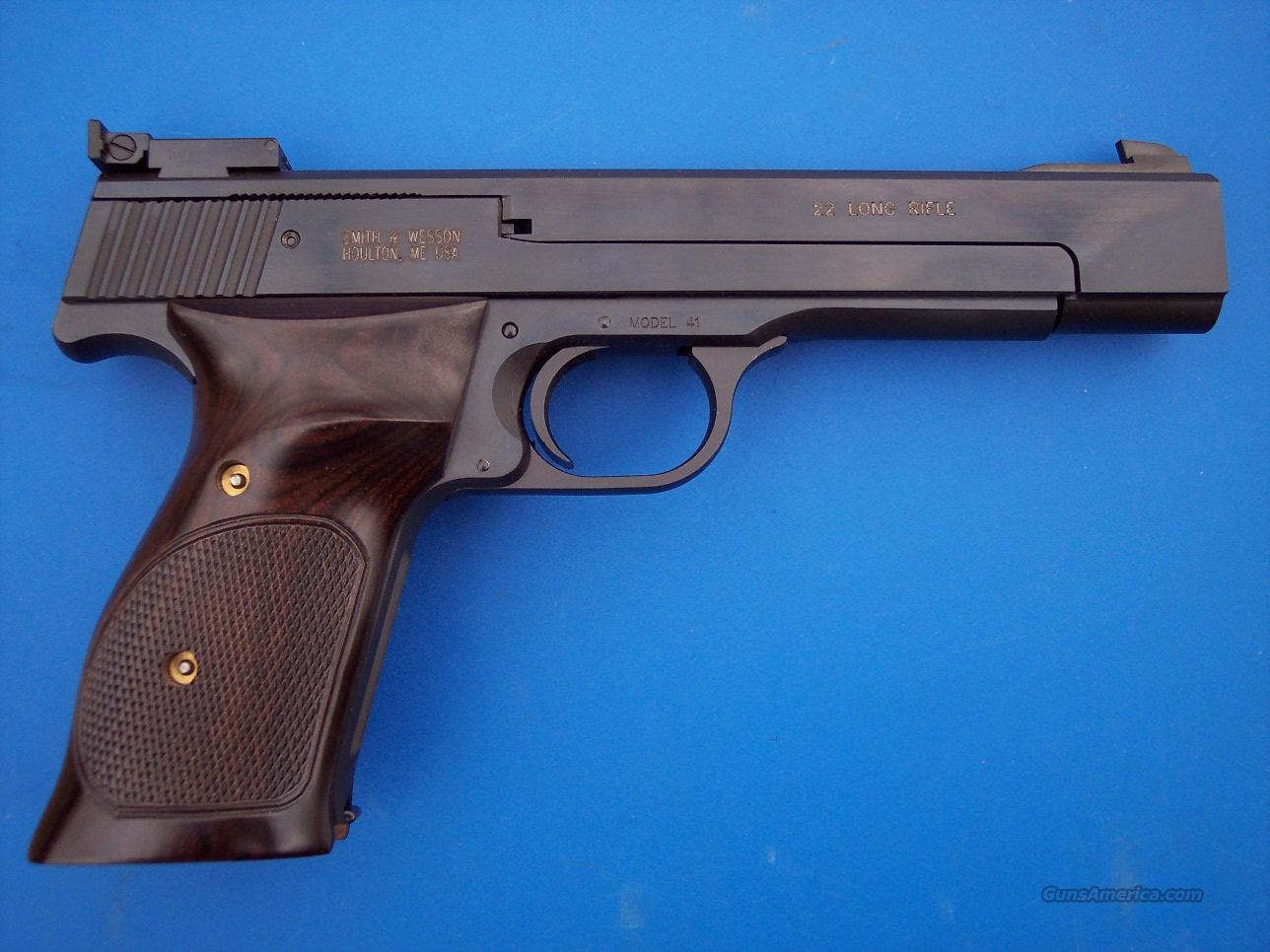 "Smith & Wesson 41 Target 22 LR  5.5"" *NEW*  Guns > Pistols > Smith & Wesson Pistols - Autos > .22 Autos"