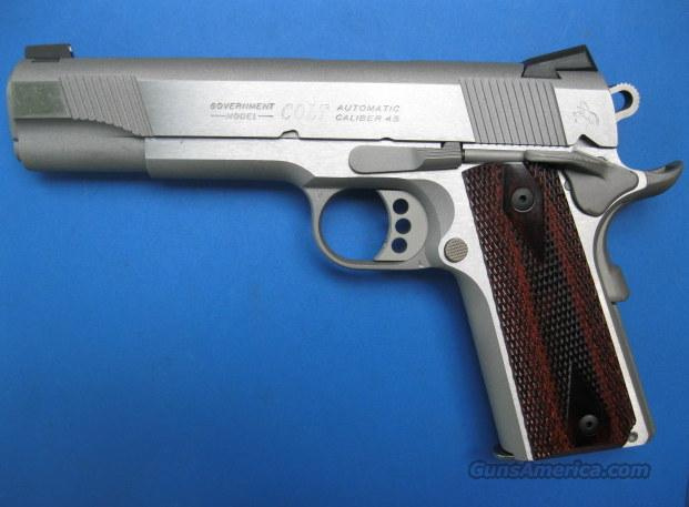 "Colt 1911 .45 acp Government 5"" Stainless O1070XSE  *NEW*  Guns > Pistols > Colt Automatic Pistols (1911 & Var)"