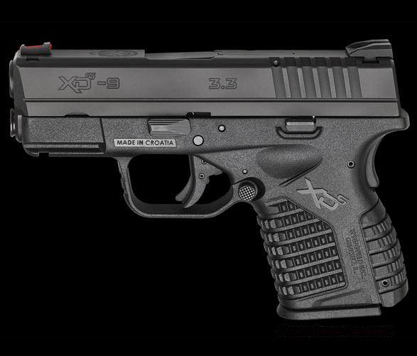 Springfield XDS 9mm Compact Black *NEW*  Guns > Pistols > Springfield Armory Pistols > XD-S