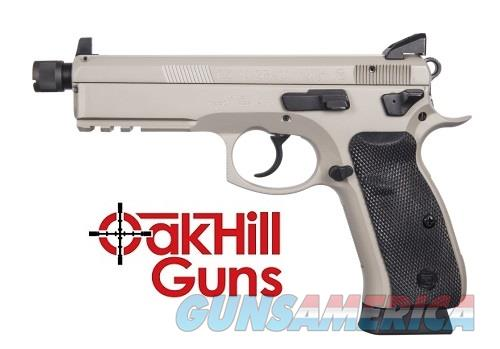 CZ 75 SP-01 9mm Tactical Urban Grey Suppressor Ready Threaded Barrel Night Sights 91253 *NIB*  Guns > Pistols > CZ Pistols