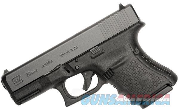 Glock 29 G4 10mm 10 Rd FS Gen 4 *NIB*  Guns > Pistols > Glock Pistols > 29/30/36
