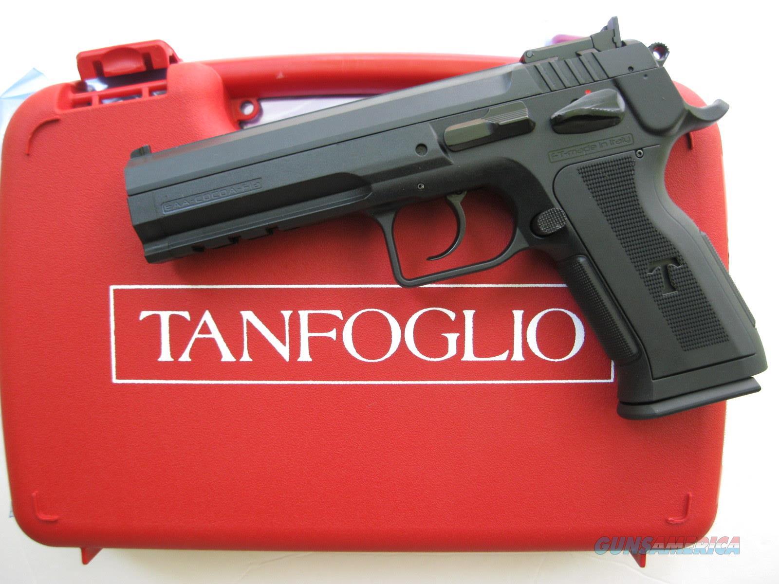 EAA Tanfoglio Polymer Match Pro 10mm 600647 *NEW*  Guns > Pistols > EAA Pistols > Other