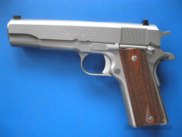 Remington R1 1911 Stainless .45 acp *NEW*  Guns > Pistols > Remington Pistols - Modern