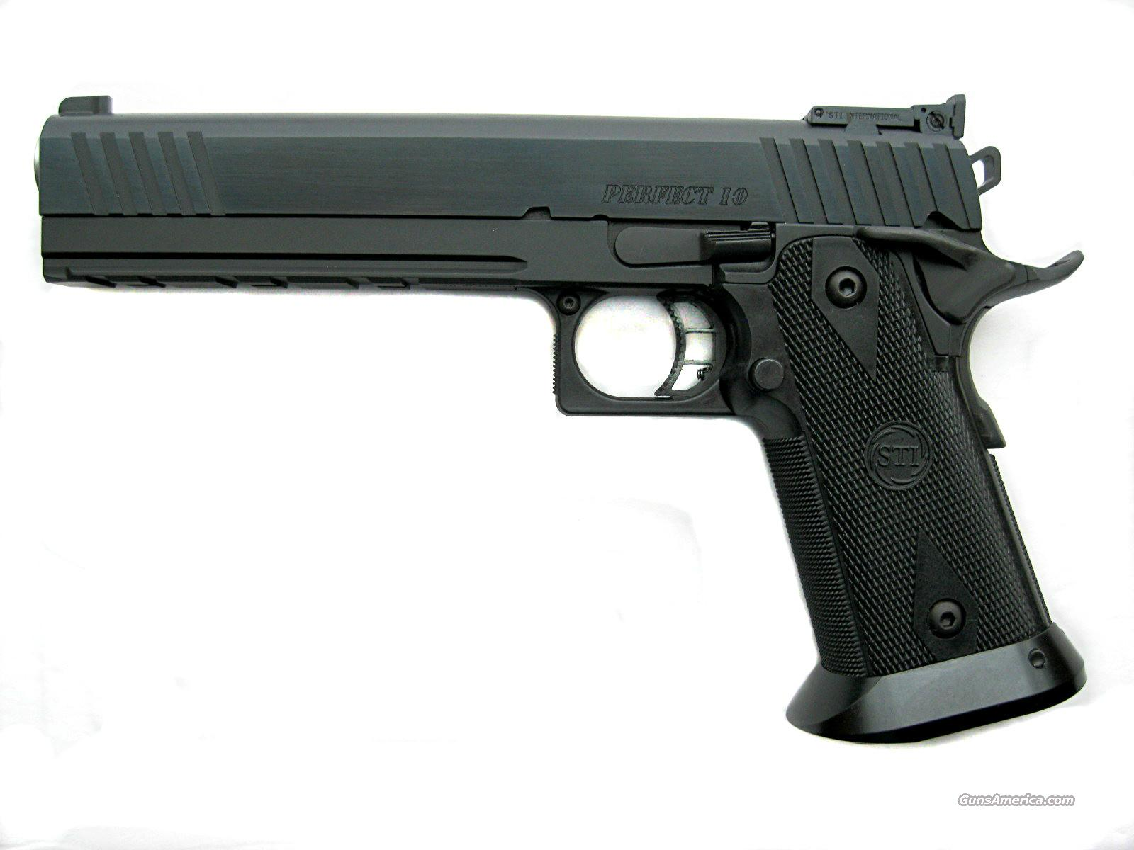 "STI 6.0 Perfect 10 Tactical 2011 Hi-Cap 6"" 10mm *NEW*   Guns > Pistols > STI Pistols"