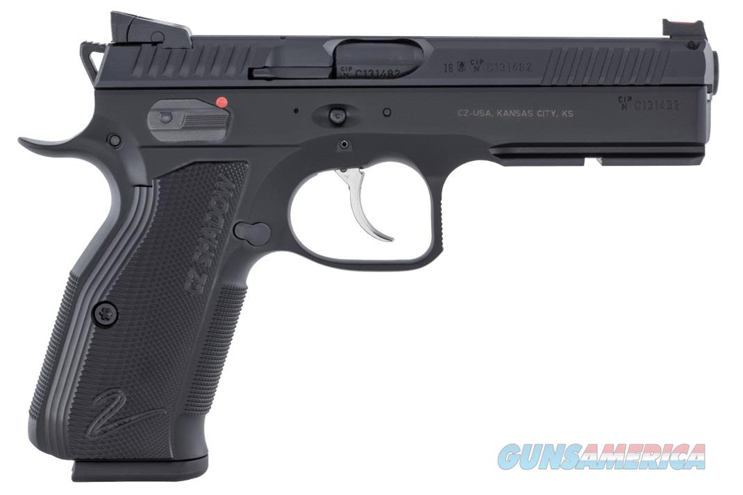 CZ Shadow 2 Black 9mm FO Hajo 3 -1 7 rd Mags CZ-USA 91254 *NEW*  Guns > Pistols > CZ Pistols