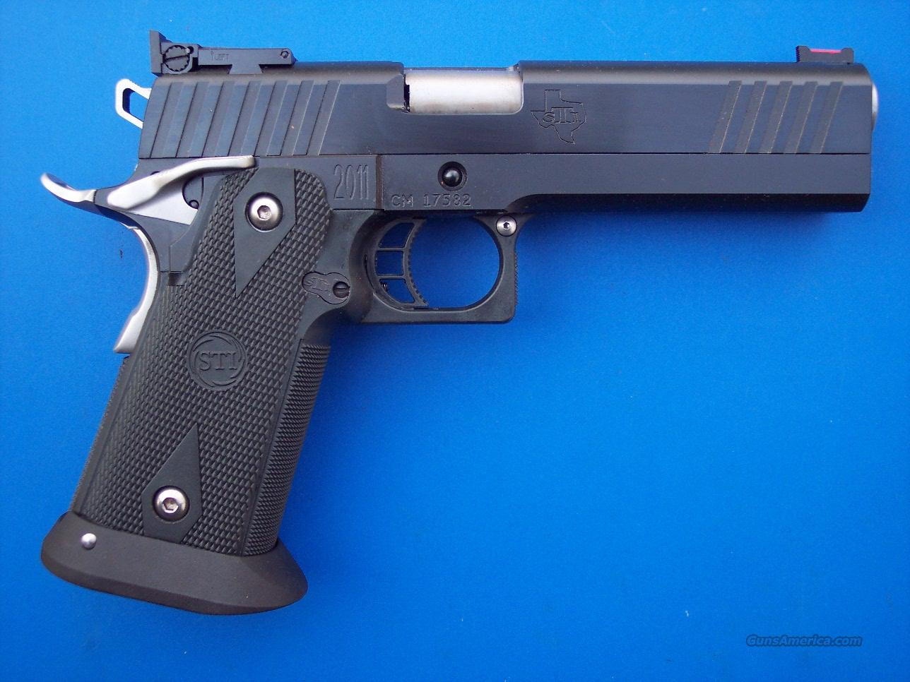 STI Edge 9mm DAWSON FO Custom 2011 *NEW*  Guns > Pistols > STI Pistols