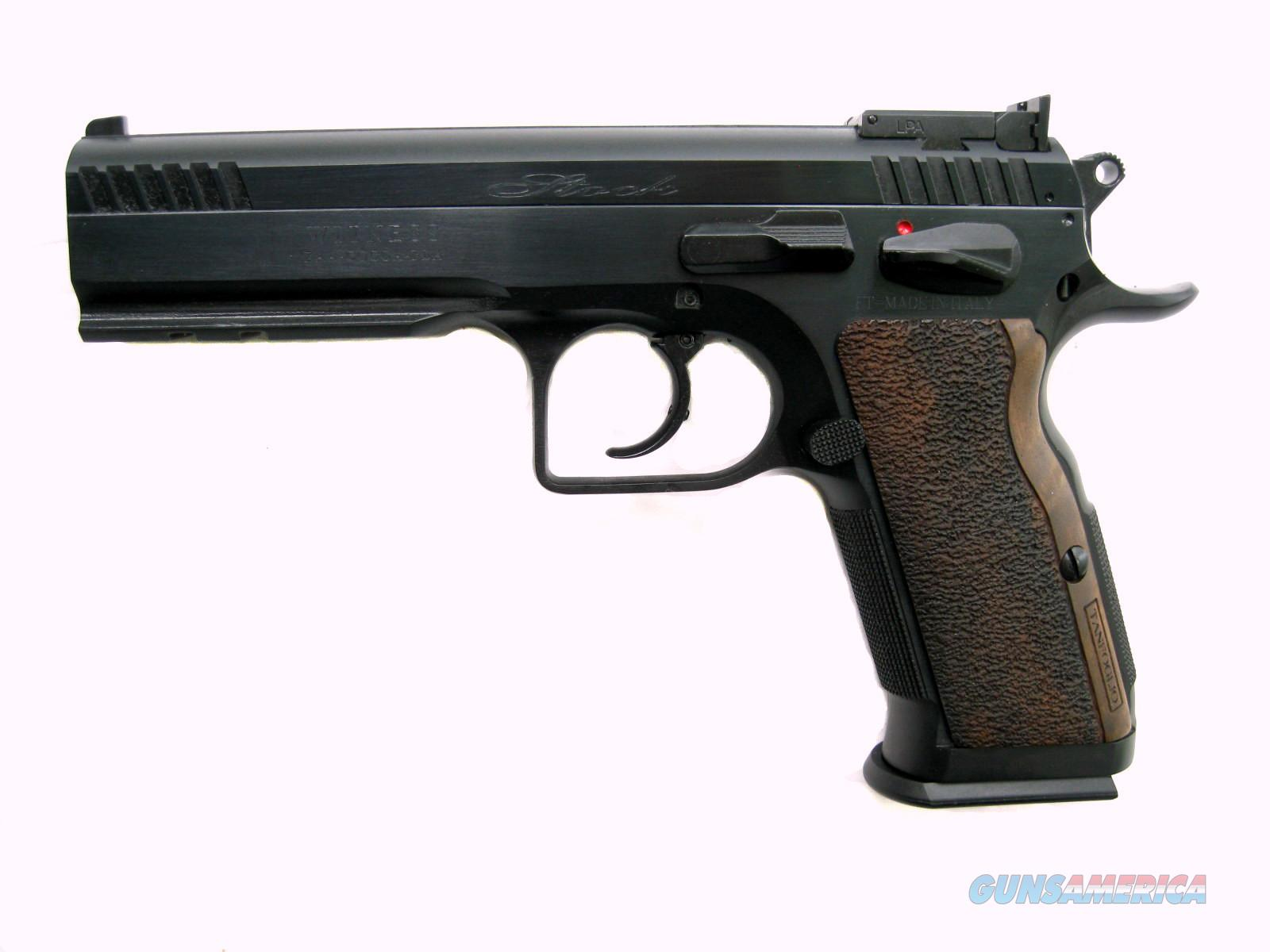 EAA Stock III 9mm Tanfoglio Elite Series Bull Barrel Rail 600595  Guns > Pistols > EAA Pistols > Other
