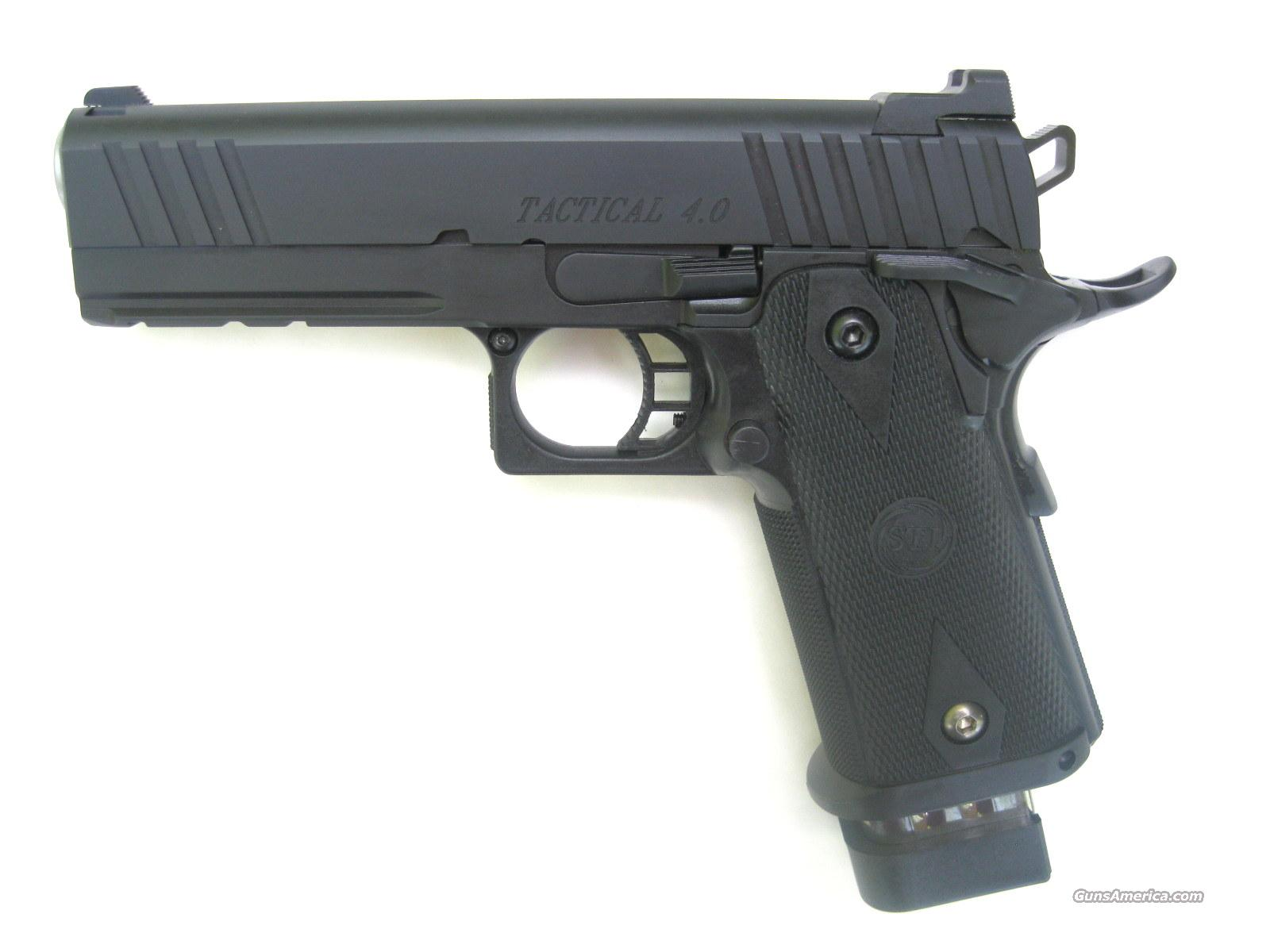 STI Tactical 4.0 9mm *NEW* Rail 2011 20 Round Hi-Cap  Guns > Pistols > STI Pistols