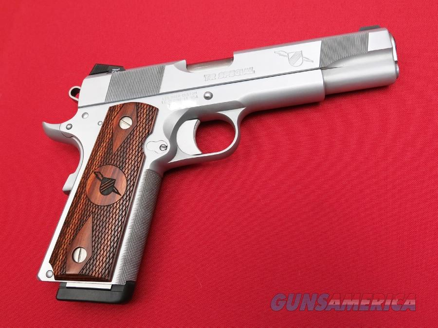"Les Baer Custom Thunder Ranch Special .45 acp 1911 Hard Chrome 5"" TR *NEW*  Guns > Pistols > Les Baer Pistols"