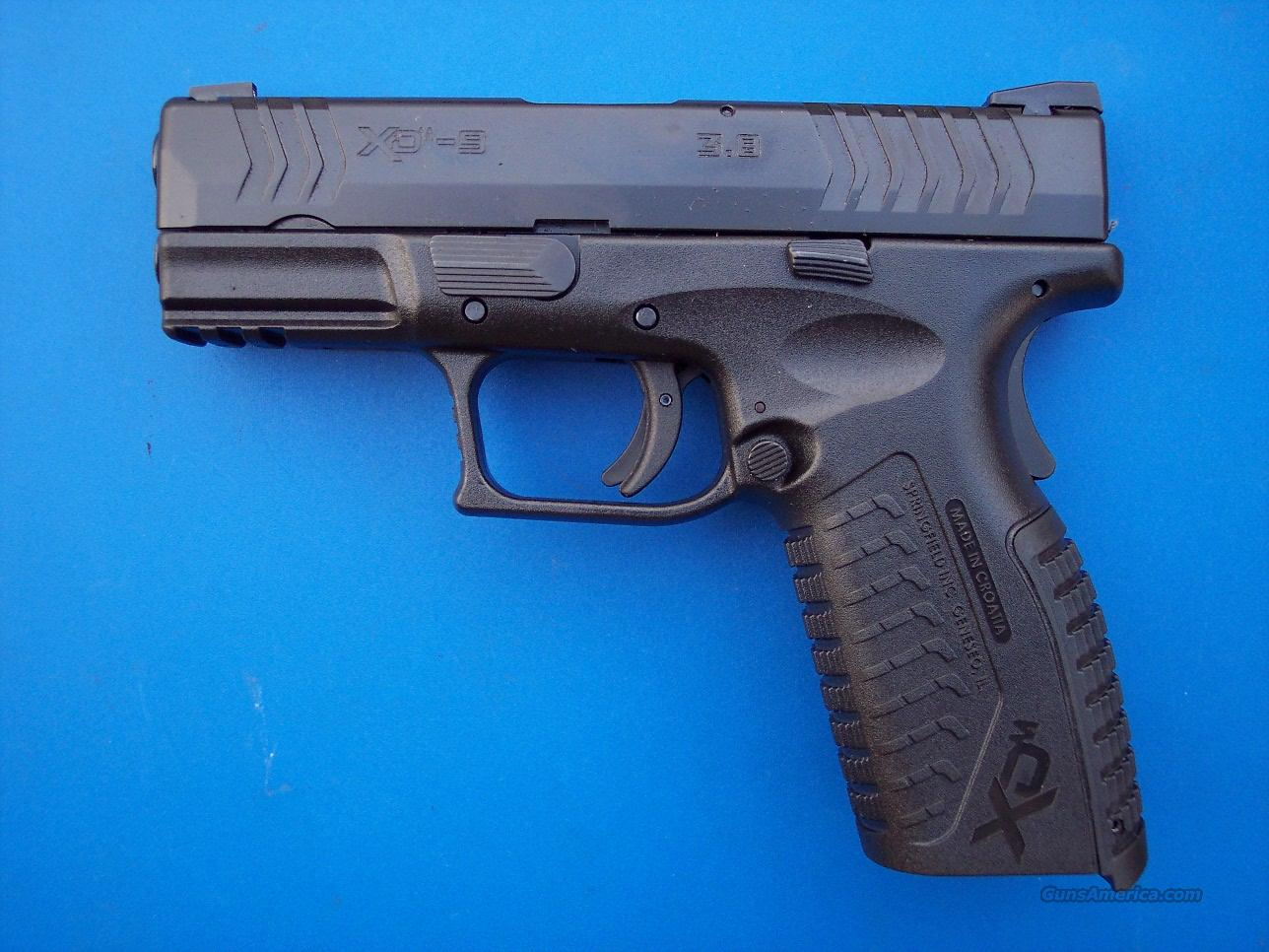 Springfield XDM Compact 9mm 3.8 NEW 19 rd HI-CAP   Guns > Pistols > Springfield Armory Pistols > XD (eXtreme Duty)
