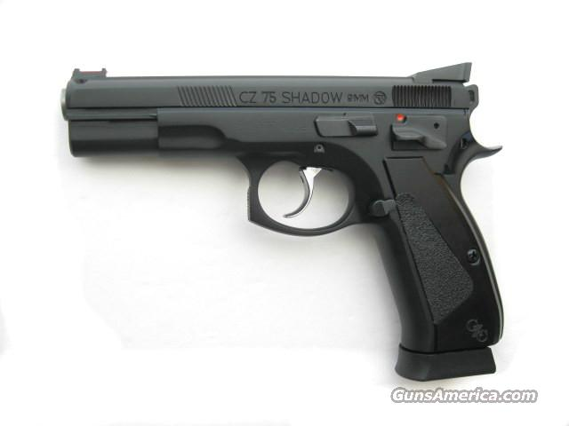 CZ 75 Shadow 9mm CUSTOM 2014 SRT DA/SA 18 rd 91715 *NEW*  Guns > Pistols > CZ Pistols