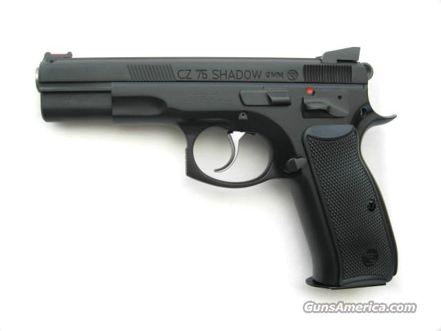 CZ 75 Shadow Custom Shop DA/SA 9mm FO Comp 91705 *NEW*  Guns > Pistols > CZ Pistols