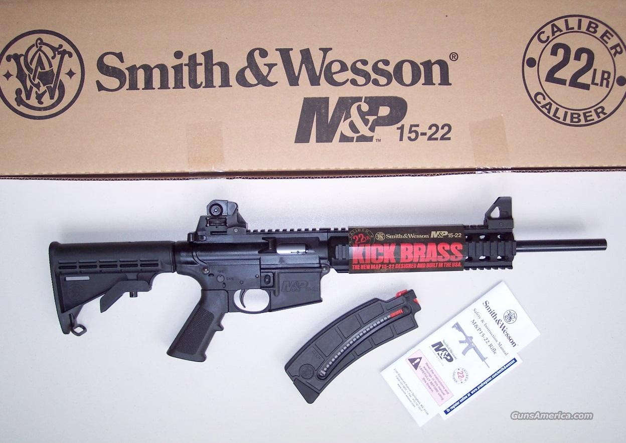 Smith & Wesson M&P 15-22 AR-15 NEW  Guns > Rifles > Colt Military/Tactical Rifles