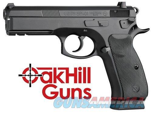 CZ 75 SP-01 9mm Tactical Night Sights Decocker 18 Round Mags 91153 *NEW*  Guns > Pistols > CZ Pistols