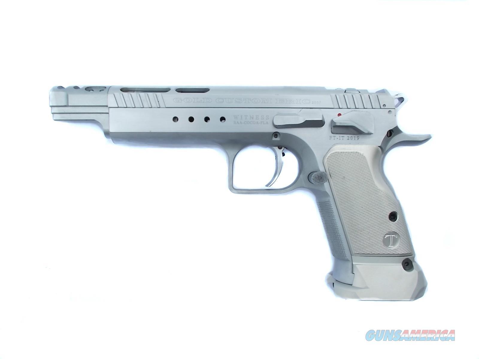 EAA Witness Elite Gold Custom Eric 9mm Open Tanfoglio *NIB* 600066  Guns > Pistols > EAA Pistols > Other