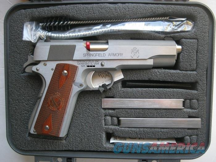 "Springfield Mil Spec Stainless 45 acp 5"" Government 1911 PB9151L  *NEW*   Guns > Pistols > Springfield Armory Pistols > 1911 Type"