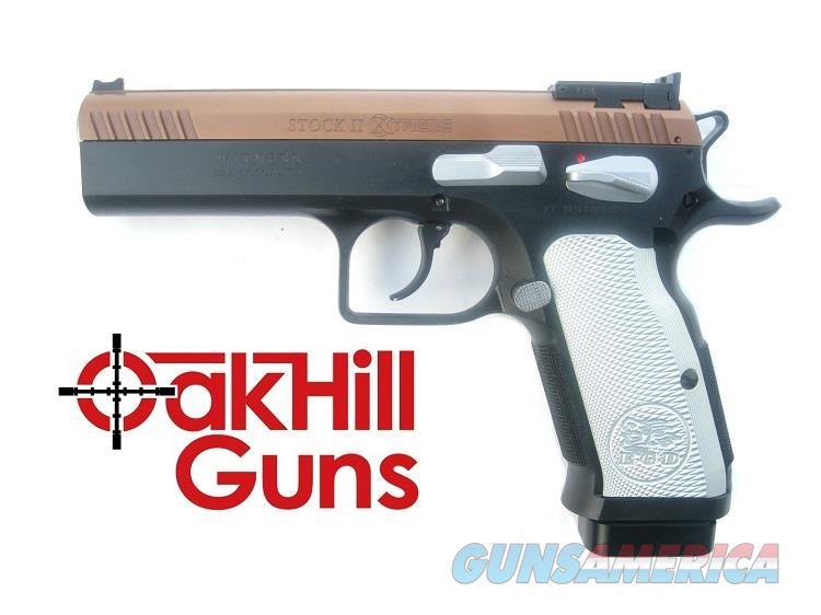 EAA XTREME Stock II 9mm Tanfoglio Custom Shop NIB 610605  Guns > Pistols > EAA Pistols > Other