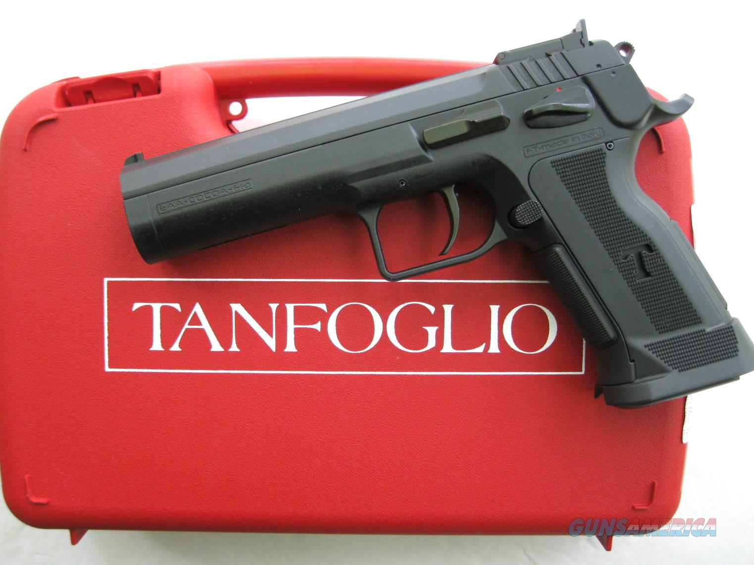 EAA Tanfoglio P-Match 9mm 600662 *NEW*  Guns > Pistols > EAA Pistols > Other