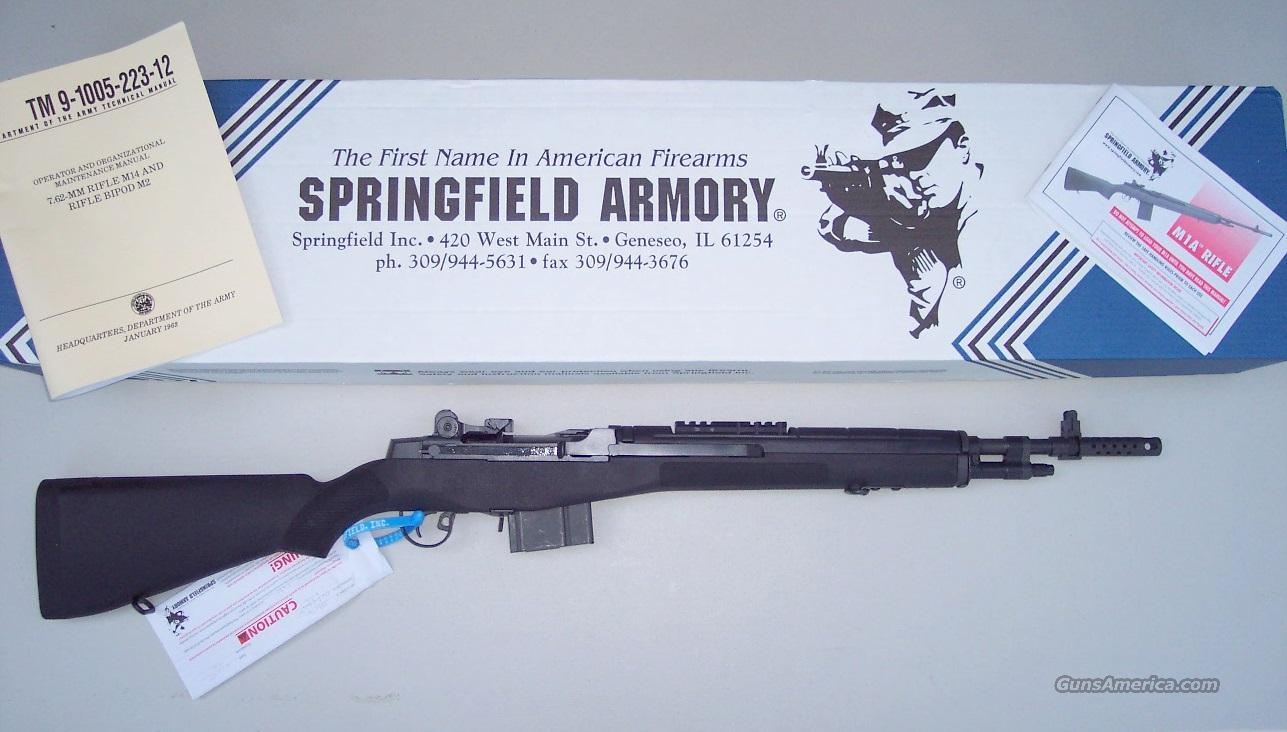 Springfield Armory M1A A1 Scout Squad 7.62 NEW  Guns > Rifles > Springfield Armory Rifles > M1A/M14