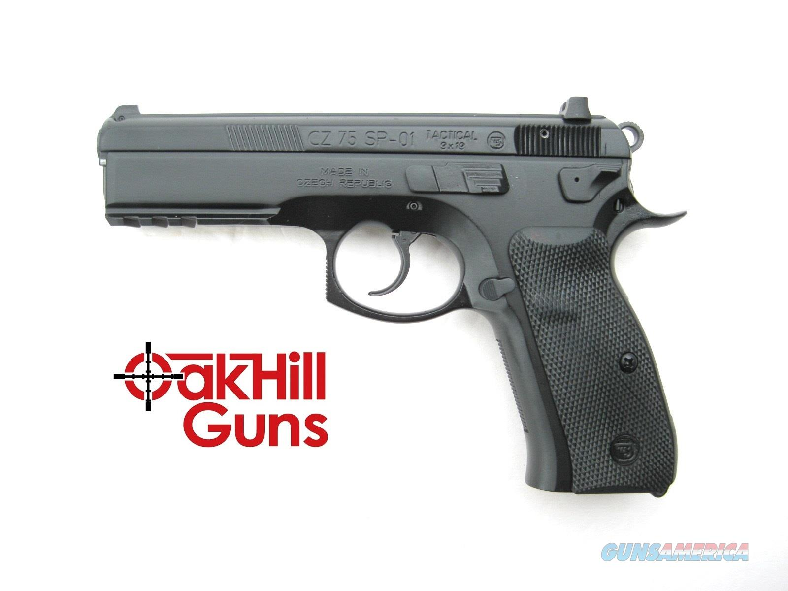 CZ 75 SP-01 9mm Tactical Night Sights Decocker 10 Round Mags 01153 *NEW*  Guns > Pistols > CZ Pistols
