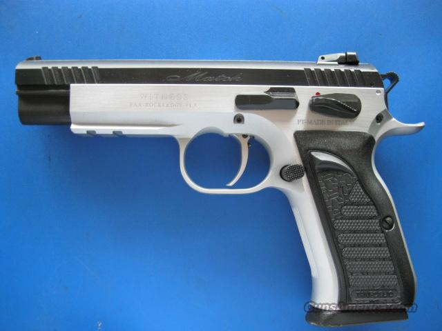 EAA Witness Elite Match 9mm Rail 18 Rd NEW Tanfoglio  Guns > Pistols > EAA Pistols > Other
