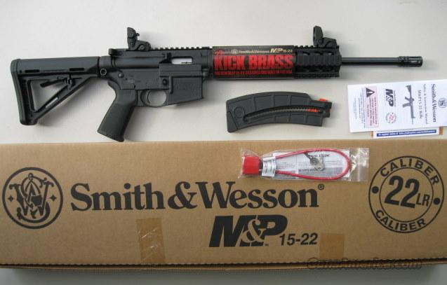 Smith & Wesson MOE M&P 15-22 MagPul BUIS *NEW*  Guns > Rifles > Smith & Wesson Rifles > M&P