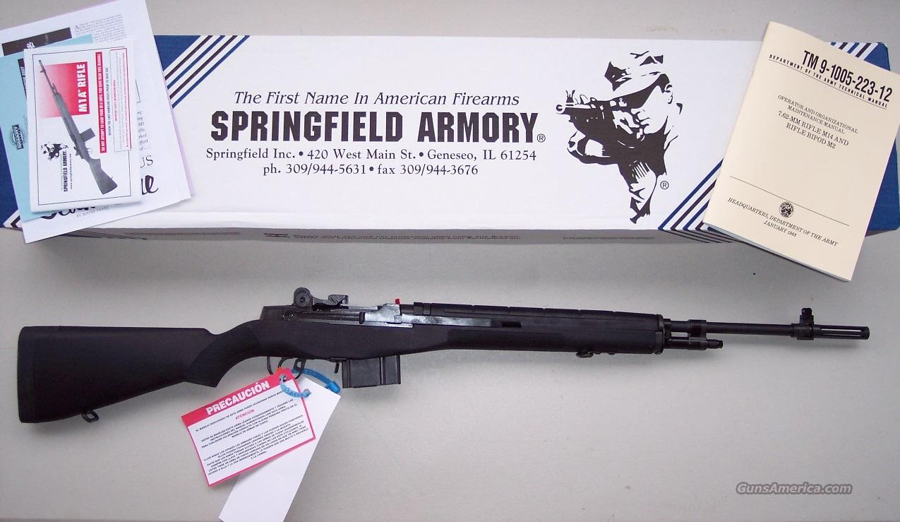 Springfield M1A Loaded National Match Syn *NEW*  Guns > Rifles > Springfield Armory Rifles > M1A/M14