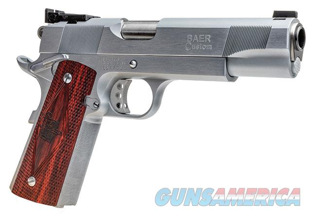 "BAER 1911 PREMIER II .45 acp HEAVYWEIGHT WITH MONOLITH FRAME, 5"" CHROME 1.5"" PKG *NEW*  Guns > Pistols > Les Baer Pistols"