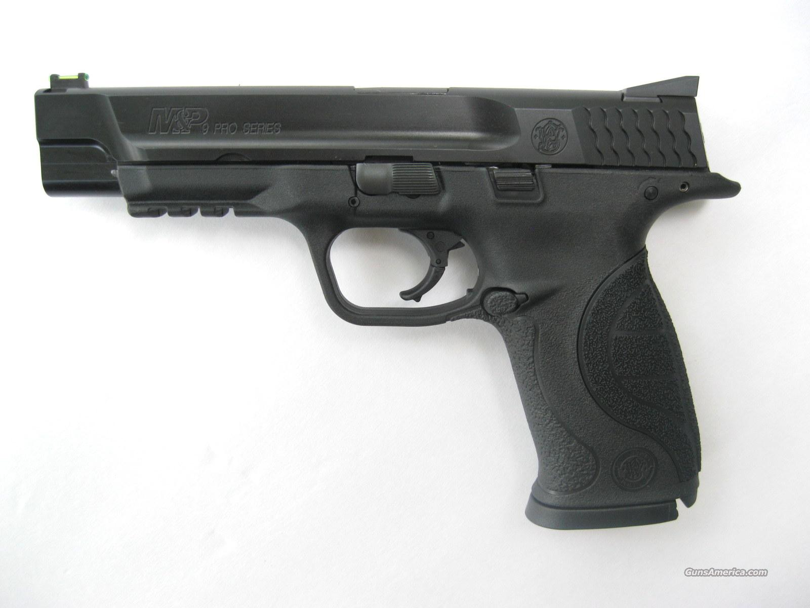 Smith & Wesson M&P Pro Series 9mm *NEW*  17 Rd Fiber Optic 5 in 178010  Guns > Pistols > Smith & Wesson Pistols - Autos > Polymer Frame