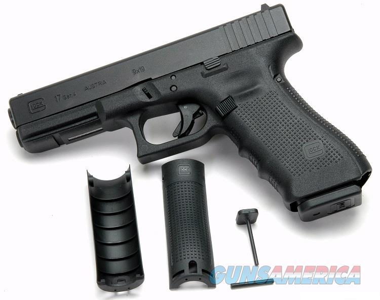 Glock 17 Gen 4 9mm 3-10 Round Mags FXD Sights NIB   Guns > Pistols > Glock Pistols > 17
