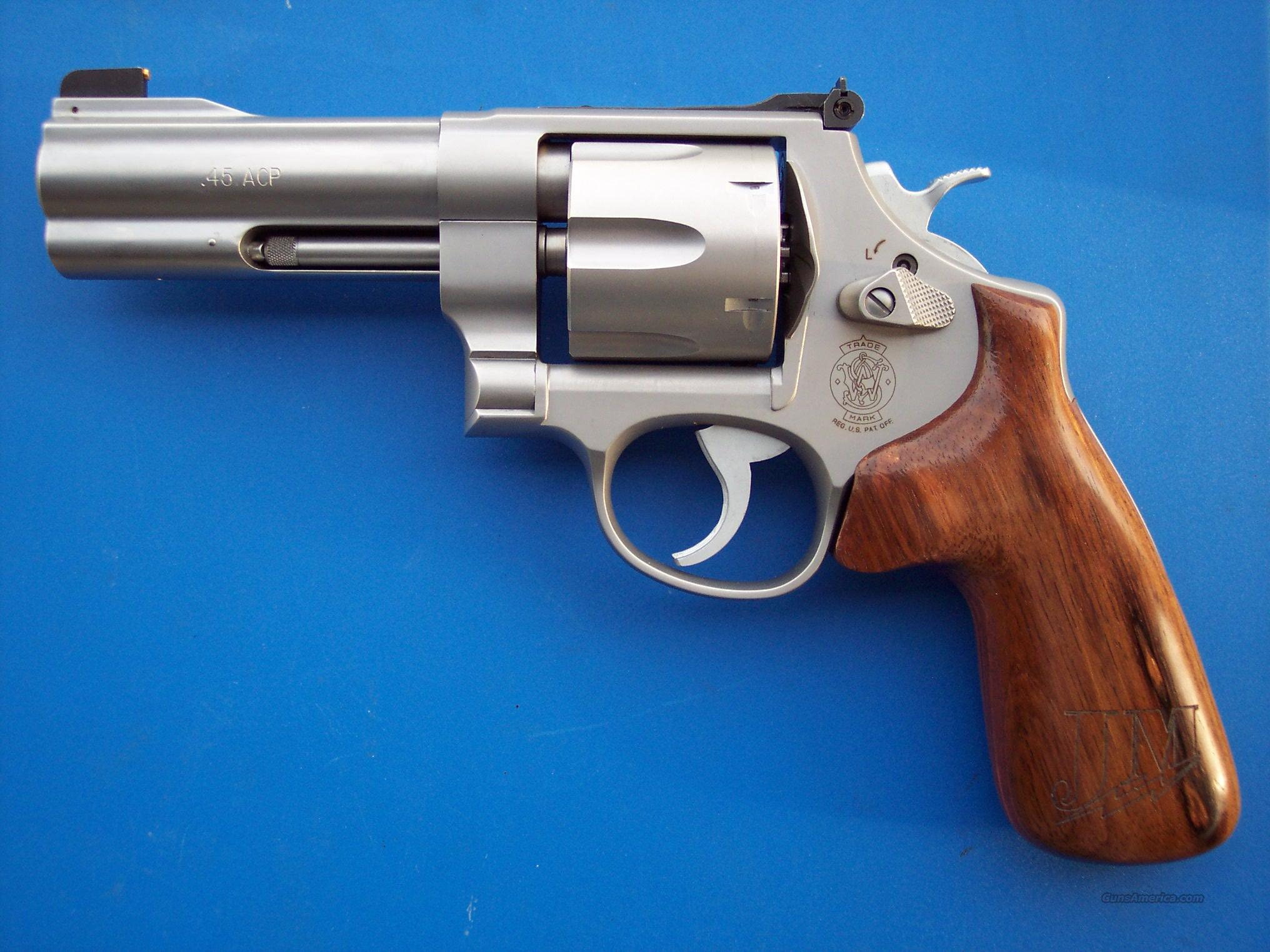 Smith & Wesson 625 Champion Series .45 acp   Guns > Pistols > Smith & Wesson Revolvers > Full Frame Revolver