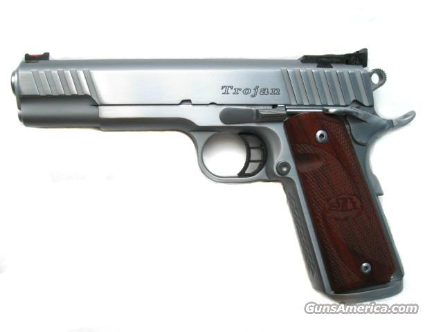STI Trojan 9mm 1911 Hard Chrome Magwell Dawson Fiber Optic *NEW*   Guns > Pistols > STI Pistols