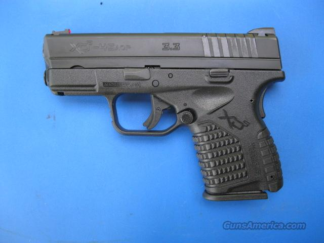 "Springfield XDS 45 Compact 3.3"" Black Gear Package XDS93345B   Guns > Pistols > Springfield Armory Pistols > XD-S"