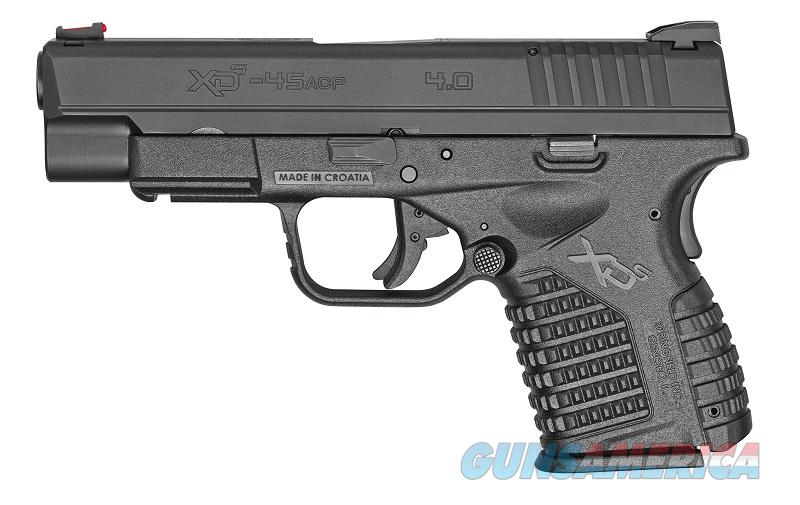 Springfield XDS 4.0 XD-S .45 acp *NEW* XDS94045BE Black   Guns > Pistols > Springfield Armory Pistols > XD-S
