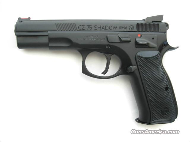 CZ 75 Shadow Custom Shop Tuned 9mm FO Comp 91711 *NEW*  Guns > Pistols > CZ Pistols