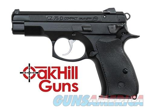 CZ-USA 75 PCR 9mm Compact Police 14 Rd Decocker 91194 *NEW*  Guns > Pistols > CZ Pistols