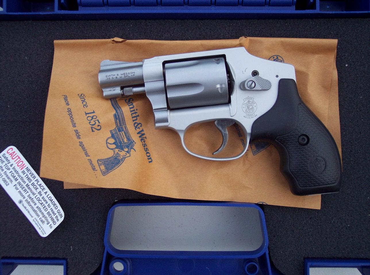 Smith & Wesson 642 Airweight Centennial J Frame 38 +P NEW  Guns > Pistols > Smith & Wesson Revolvers > Pocket Pistols