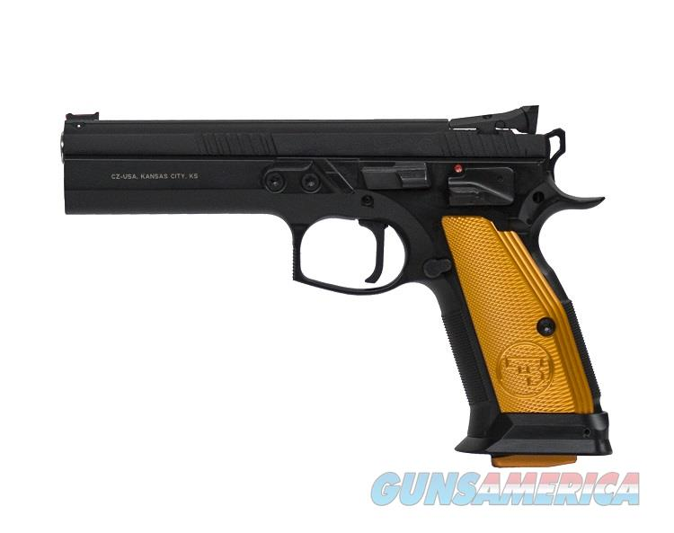 "CZ 75 Tactical Sport ORANGE 9mm 5.4"" 20 Rd Competition *NIB* 91261  Guns > Pistols > CZ Pistols"